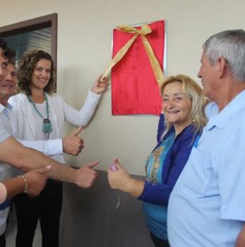 Deputado Anibelli Neto participa de inauguração de Escola em Agudos do Sul no Bairro Queimados.