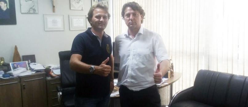 Visita do amigo Gusso de Almirante Tamandaré.