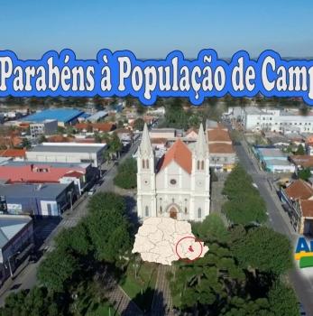 Parabéns à População de Campo Largo