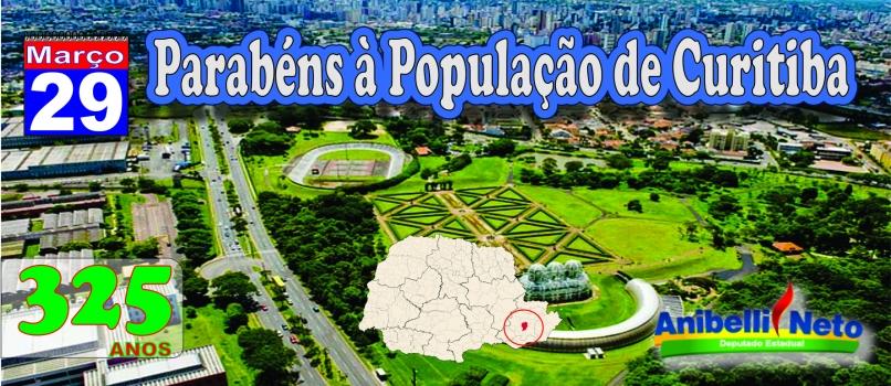 Parabéns à População de Curitiba