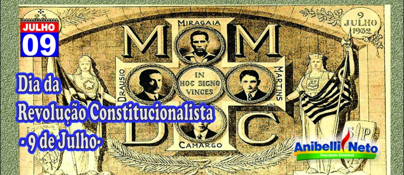 Revolução Constitucionalista – 9 de Julho