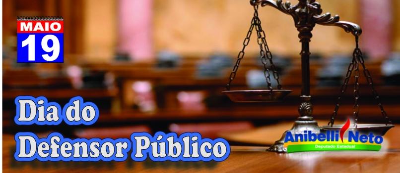 Dia do Defensor Público