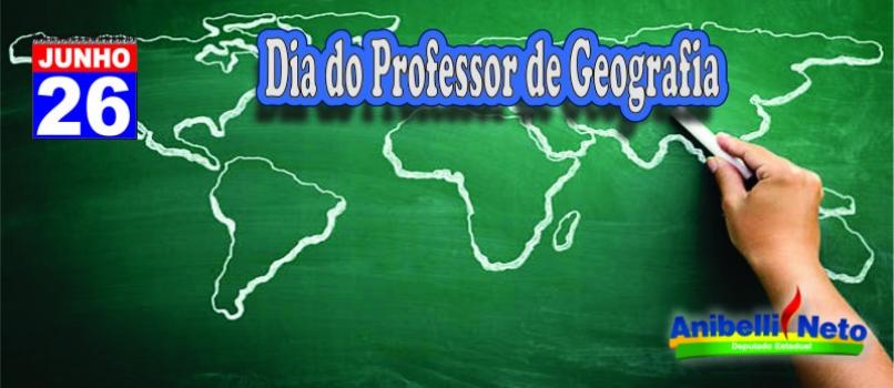 Dia do Professor de Geografia