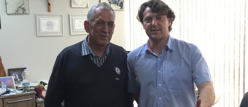 Companheiro Antonio Carlos Bretas visita Anibelli Neto