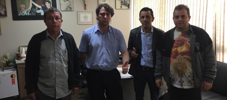 Vereadores de Santa Mônica Visitam Anibelli Neto