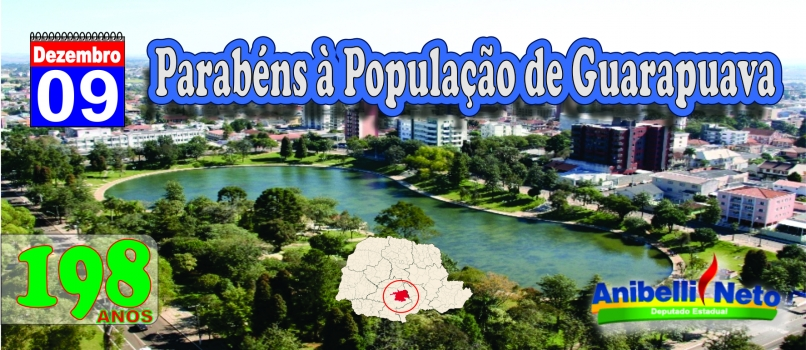 Parabéns à População de Guarapuava