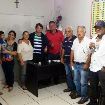 Anibelli visita companheiros peemedebistas de Jardim Alegre