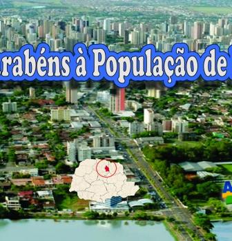 Parabéns à população de Londrina