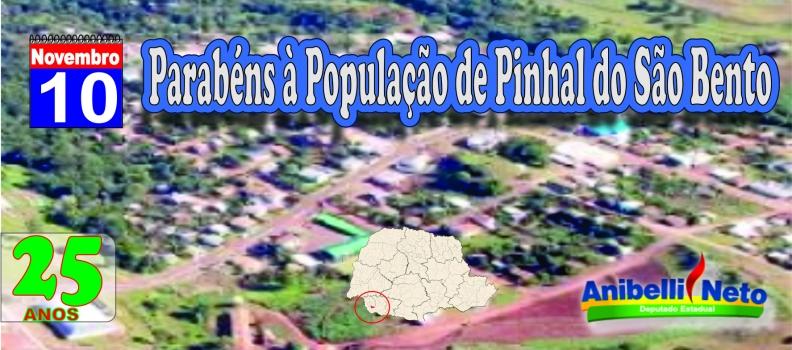 História do município de Pinhal de São Bento