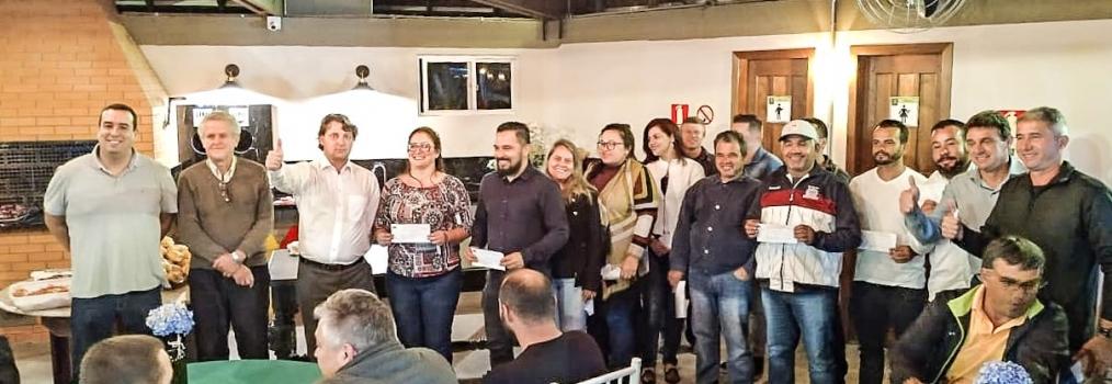 Anibelli Neto participa de filiações de novas lideranças no MDB de Quatro Barras