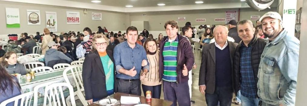 Em Quitandinha, Anibelli Neto participa da Festa do Padroeiro da cidade