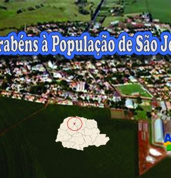 Parabéns à População de São Jorge do Ivaí